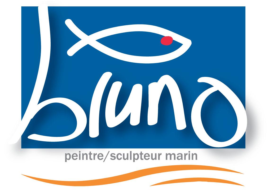 Bruno peintre et sculpteur marin